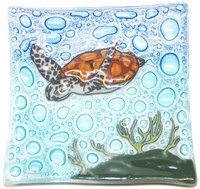 Green Sea Turtle  Medium Plate