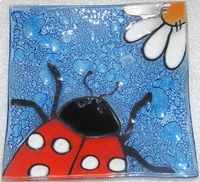 Lady Bug  Medium Plate