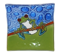 Red Eye Frog  Medium Plate