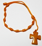 Tagua Cross Bracelet Yellow