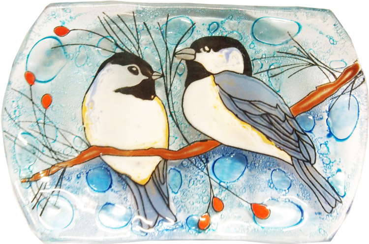 Chickadee Soap Dish