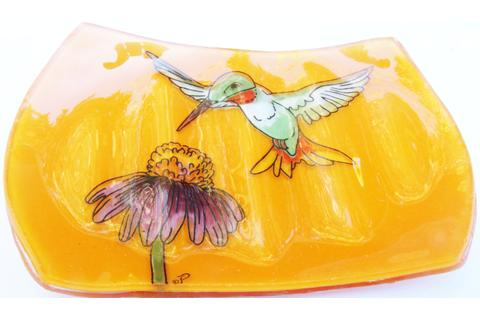 Hummingbird Soap Dish