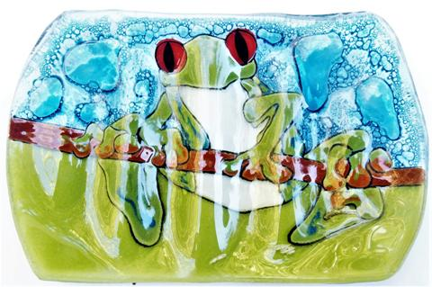 Red Eye Frog Soap Dish