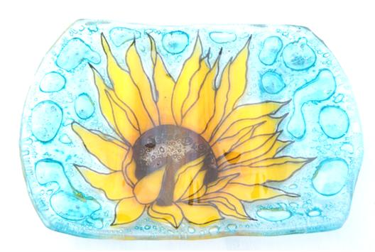 Sun Flower Soap Dish