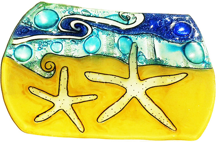 White Star Fish Soap Dish
