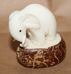 Small Elephant Tagua Carving