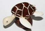 Small Sea Turtle Tagua Carving