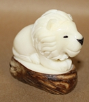 Lion Tagua Carving