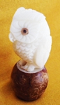 Owl Tagua Carving