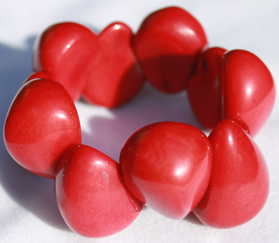 Tagua Drop Fashion Bracelets