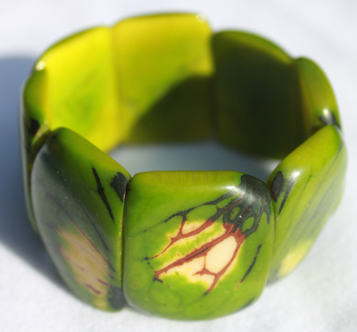 Tagua Square Fashion Bracelets