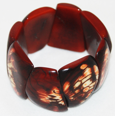 Tagua Triangle Fashion Bracelets