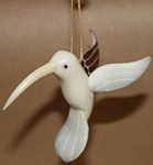 Hummingbird Tagua Ornament