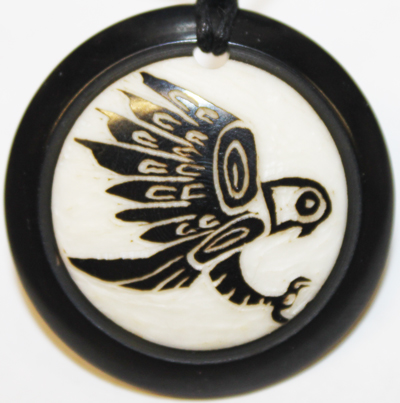 Totemic Eagle Necklace