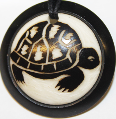 Land Turtle Necklace