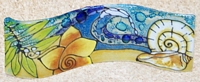 Sea Shell Small Wavy Glass