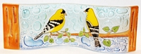 Goldfinch Small Wavy Glass