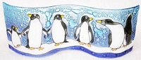 Penguin Small Wavy Glass