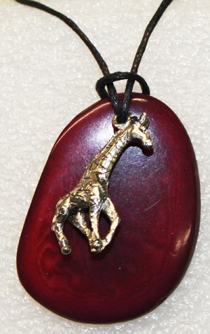 Charm Necklace Giraffe