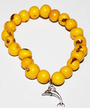 ASAI (ACAI) Bracelet With Small Dolphin Charm