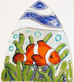 Clown Fish Glass Nightlight
