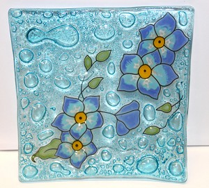 Forget Me Not  Medium Plate