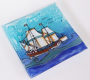 Sail Boat  Medium Plate