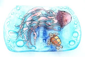 Jelly Fish Soap Dish