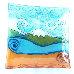 Mountain Scene Dish
