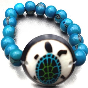Turtle Bracelate  Made with Tagua