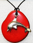 Charm Necklace Dolphin