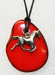 Charm Necklace Horse