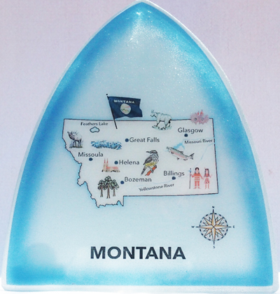 Montana Map Nightlight
