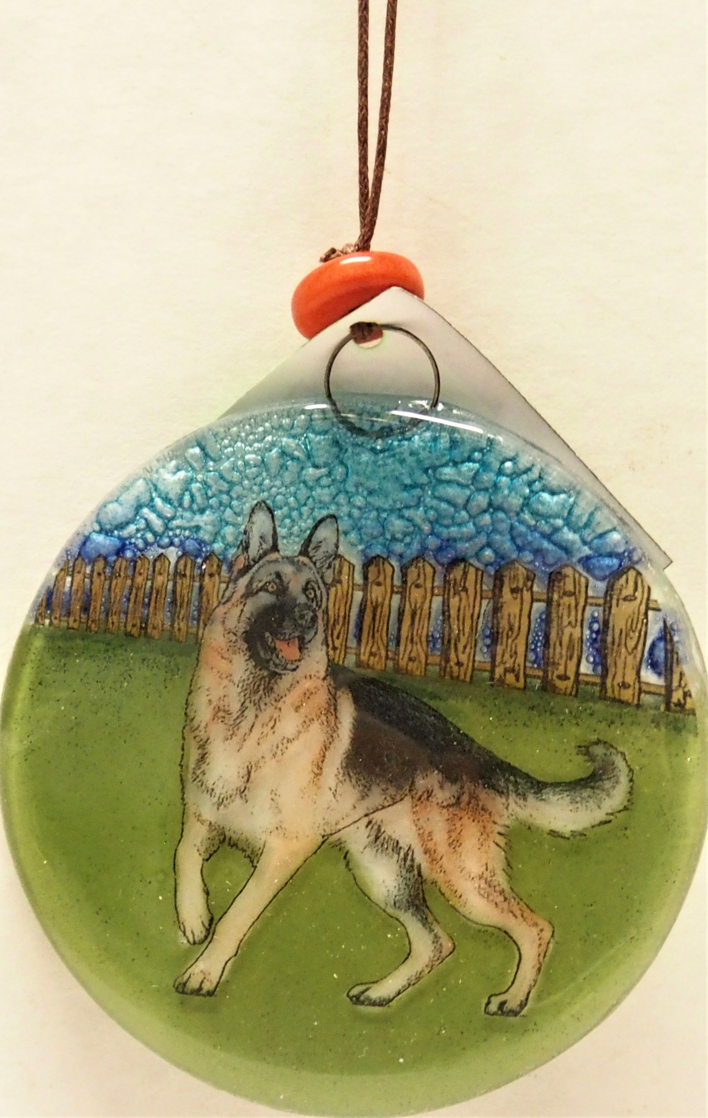 German Shephard Dog Ornament