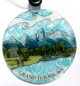 Great Tetons Ornament
