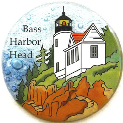 Light House Bass Harbor Head Ornament