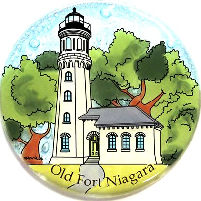 Light House Old Niagara, NY Ornament