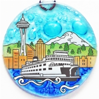 Space Needle Ornament