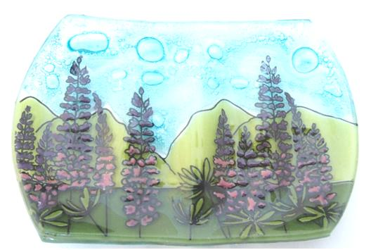 Lupine Flower Soap Dish