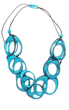 Multi Ring Layer Necklace