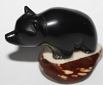 Black Bear Tagua Carving