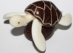 Large Sea Turtle Tagua Carving