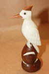 Large Wood Pecker Tagua Carving