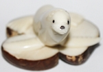 Medium Sea Lion Tagua Carving