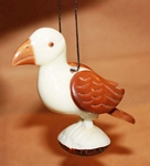 Puffin Tagua Ornament